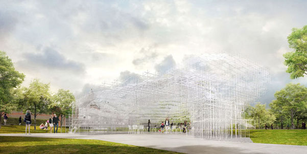 Serpentine Pavilion Sou Fugimoto